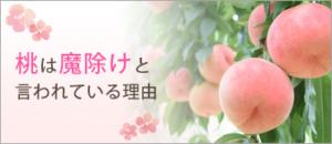 魔除け 桃 桃の木
